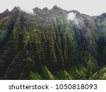 Dramatic Misty Napali Cliffs