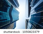 bottom up view of commercial... | Shutterstock . vector #1050823379