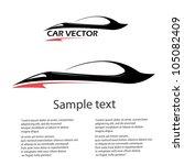 Stock vector vector car icon fast racing automobile 105082409