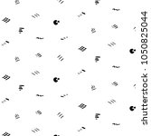 doodle pattern in minimal...   Shutterstock .eps vector #1050825044
