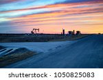american shale gas   drilling...   Shutterstock . vector #1050825083