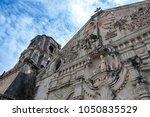 miagao church  the centerpiece...   Shutterstock . vector #1050835529