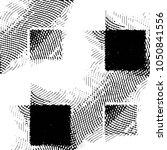 black and white grunge stripe... | Shutterstock .eps vector #1050841556