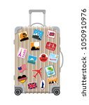 Silver Travel Bag. Plastic Case ...