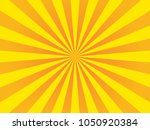 bright sunbeams on orange... | Shutterstock .eps vector #1050920384