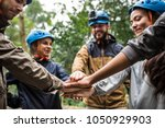 team building outdoor in the... | Shutterstock . vector #1050929903