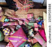 mexican artisan oaxaca | Shutterstock . vector #1050935888