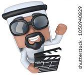 3d render of a funny cartoon...   Shutterstock . vector #1050940829