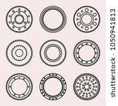 gear wheel in mechanical system ... | Shutterstock .eps vector #1050941813