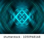 abstract dynamic blue... | Shutterstock . vector #1050968168