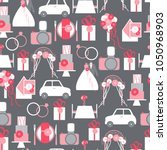 vector seamless pattern with... | Shutterstock .eps vector #1050968903