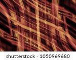 abstract stripes orange... | Shutterstock . vector #1050969680