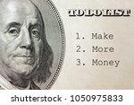 make more money in to do list ... | Shutterstock . vector #1050975833
