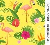 vector cartoon style summer... | Shutterstock .eps vector #1050978104