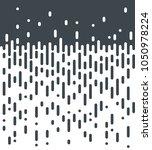 halftone vector background.... | Shutterstock .eps vector #1050978224