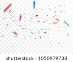celebration with colorful... | Shutterstock . vector #1050979733