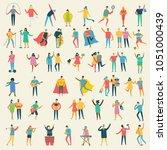 vector illustration in a flat... | Shutterstock .eps vector #1051000439