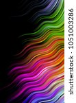 dark multicolor  rainbow... | Shutterstock . vector #1051003286