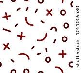 light red vector seamless cover ... | Shutterstock .eps vector #1051006580