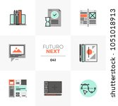 modern flat icons set of design ...