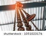 Chain Hoist. Industrial Hook...