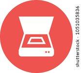 scanner  document  scan | Shutterstock .eps vector #1051035836