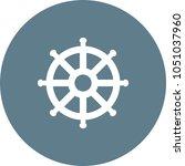 ship wheel icon | Shutterstock .eps vector #1051037960