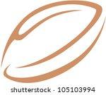 creative football illustration | Shutterstock .eps vector #105103994