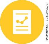 financial report icon   Shutterstock .eps vector #1051040678