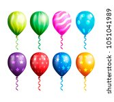 balloon vector collections | Shutterstock .eps vector #1051041989