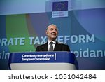 eu commissioner in charge of... | Shutterstock . vector #1051042484