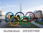 buenos aires  argentina  ... | Shutterstock . vector #1051057400