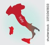 italy map   vector illustrator   Shutterstock .eps vector #1051065833