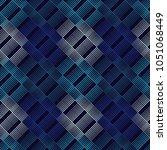 seamless geometric pattern. the ... | Shutterstock .eps vector #1051068449