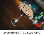 espresso coffee martini... | Shutterstock . vector #1051087343