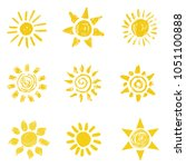 Hand Drawn Vector Set Of...