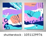 cover  invitation card template ... | Shutterstock .eps vector #1051129976
