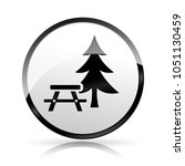 illustration of picnic icon on... | Shutterstock .eps vector #1051130459