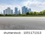 panoramic skyline and buildings ... | Shutterstock . vector #1051171313