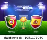 soccer championship league ... | Shutterstock .eps vector #1051179050