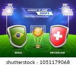 soccer championship league ... | Shutterstock .eps vector #1051179068