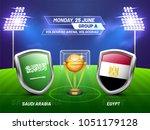 soccer championship league ... | Shutterstock .eps vector #1051179128