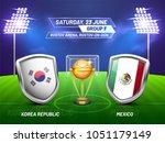 soccer championship league ... | Shutterstock .eps vector #1051179149
