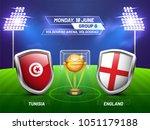 soccer championship league ... | Shutterstock .eps vector #1051179188