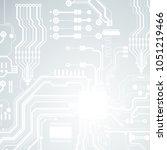 vector circuit board... | Shutterstock .eps vector #1051219466