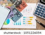 business diagram with... | Shutterstock . vector #1051226054