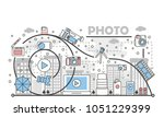 photo concept vector... | Shutterstock .eps vector #1051229399