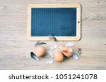 top view background with space...   Shutterstock . vector #1051241078