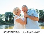 low angle side view portrait of ...   Shutterstock . vector #1051246604