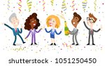 vector illustration of group of ...